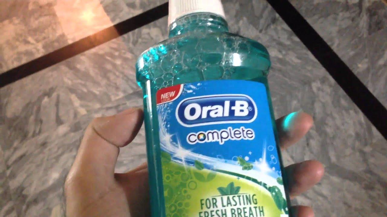 Oral B Mouth Wash