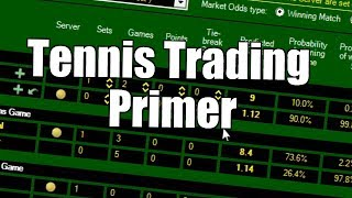Betfair trading strategies - Tennis trading primer