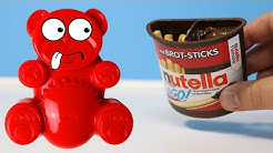 Nutella 2 Go selber mit Lucky Bär machen
