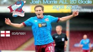Josh Morris ● Goals 2016-2017 │ Scunthorpe United