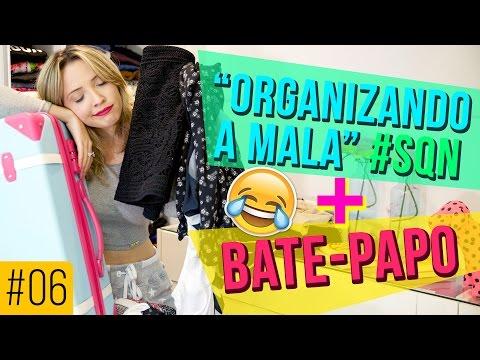 """ORGANIZANDO A MALA"" + BATE-PAPO - #TACITODODIA"