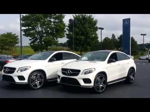 2017 Gle43 Amg Coupe Differences From Gle450 Coupe Youtube