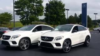 2017 GLE43 AMG Coupe - Differences From GLE450 Coupe