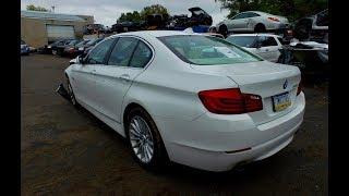Автомобили из Америки. 2013 BMW 535 F10 со страхового аукциона Copart .