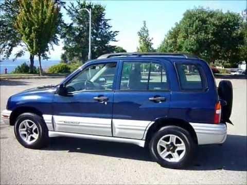 2002 Chevrolet Tracker 4x4 - 5 Spd. - 4Cyl. - 144K - $6995 ...