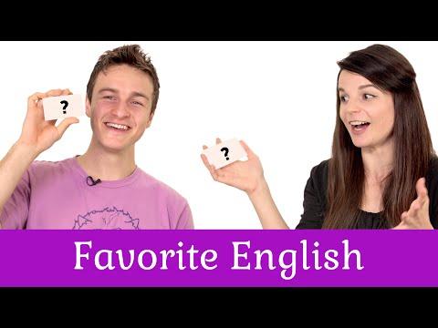 English Topics - Alisha and Michael's Favorite English