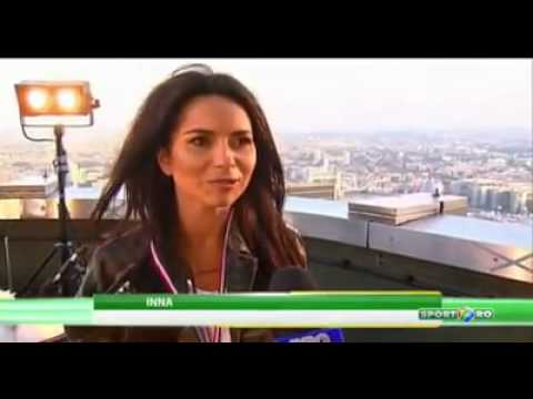 INNA - Interview for Sport.ro (Romanian Television)