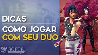 OFF STREAM #6-HOW to PLAY WITH YOUR DUO (Fortnite Battle Royale free) [EN-BR]-Softe