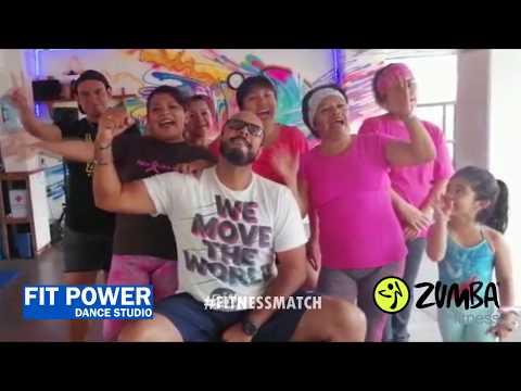 FITNESS MATCH - FIT POWER DANCE SESSION - Todo El Mundo DJ Ricky Luna X Nando Boom X Hisatomi