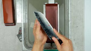 Polishing Wusthof Santoku knife