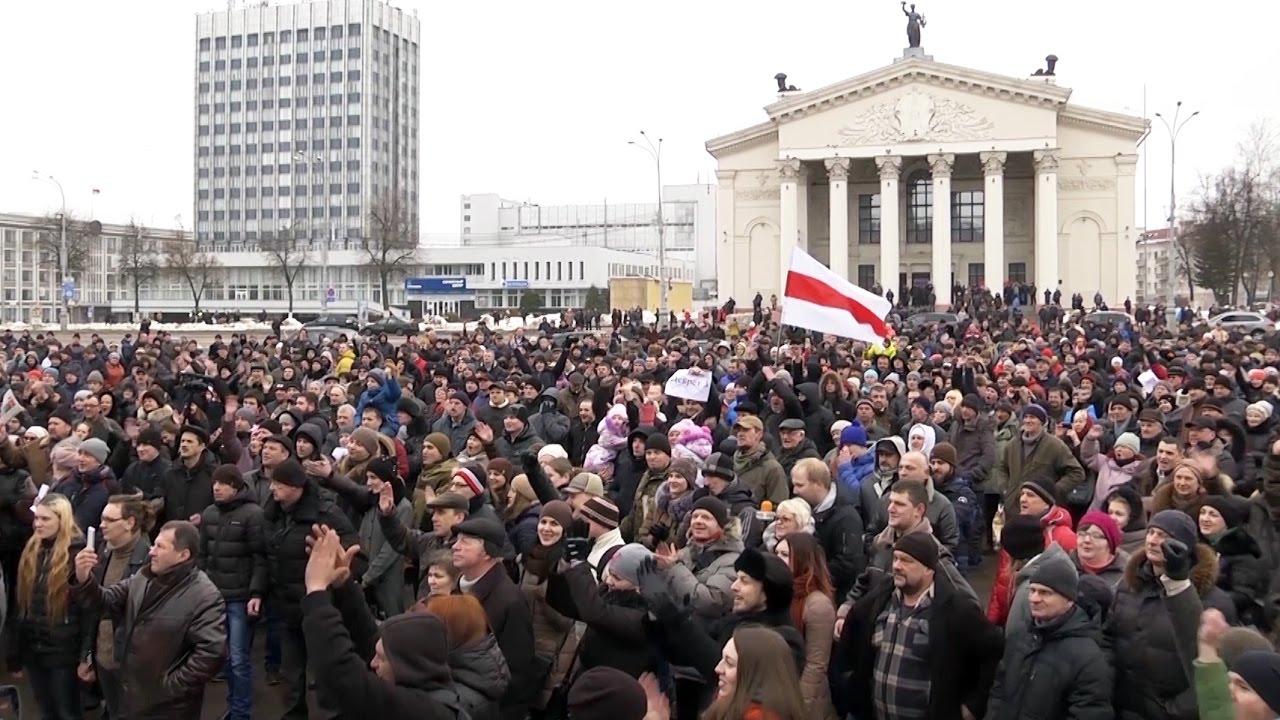 Вкратце о последней волне протестов в Беларуси