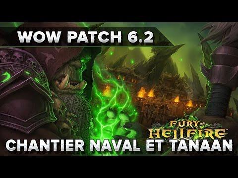 WoW Patch 6.02 : Chantier Naval et Tanaan !