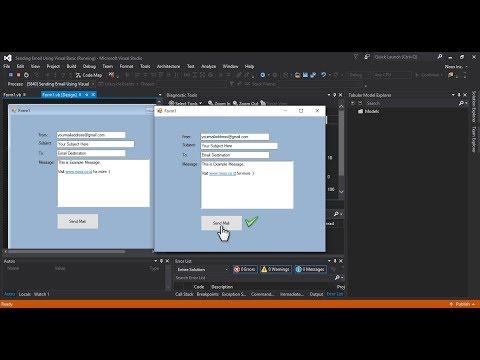 Sending Email Using Visual Basic .NET