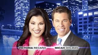 KTLA 5 News - Micah Ohlman & Victoria Recano at 6 & 10 PM - TV Commercial (2012)