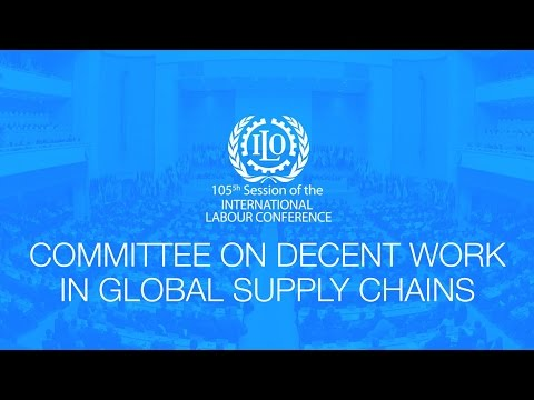 Upping the quality of employment in global supply chains