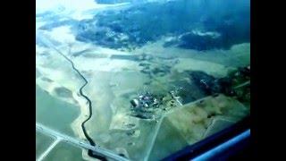 Plane landing Stockholm airport Arlanda/Посадка самолета аэропорт Арланда Стокгольм(, 2016-04-06T19:50:44.000Z)