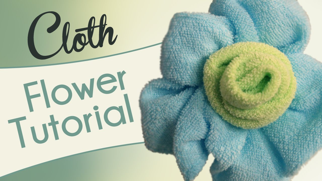 Make A Cloth Flower