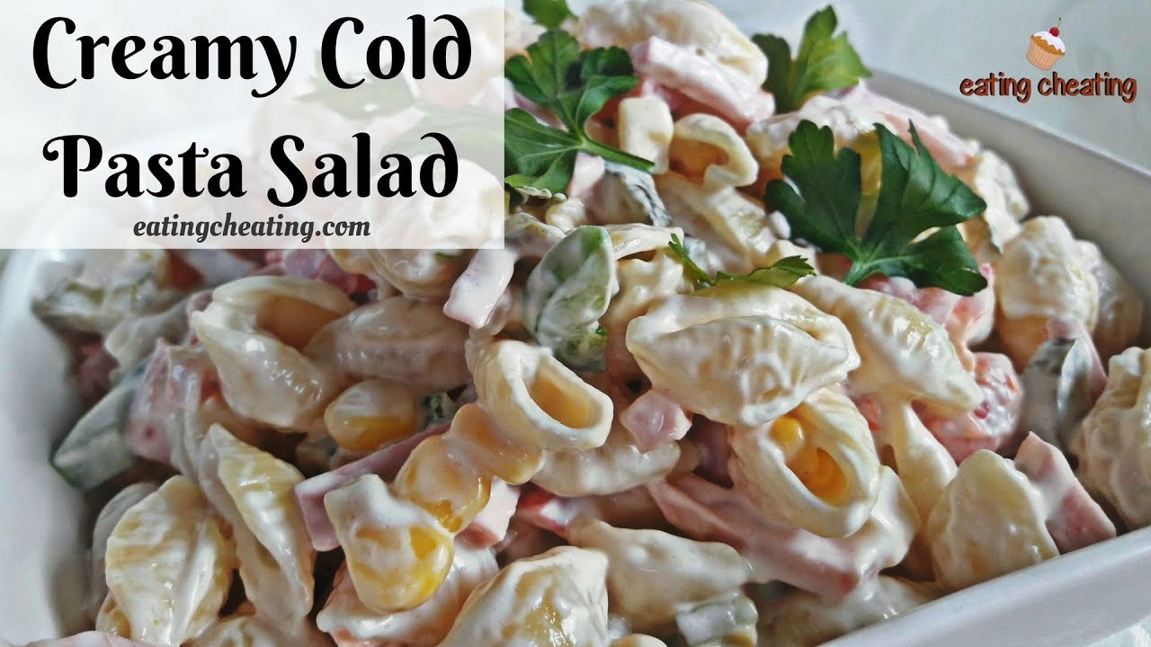 Cold Pasta Salad Recipe How To Make
