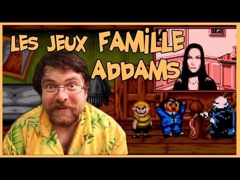 Joueur du grenier - Les jeux Famille Addams