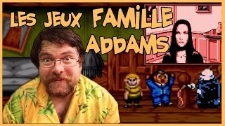 Attic's gamer - Addams family games
