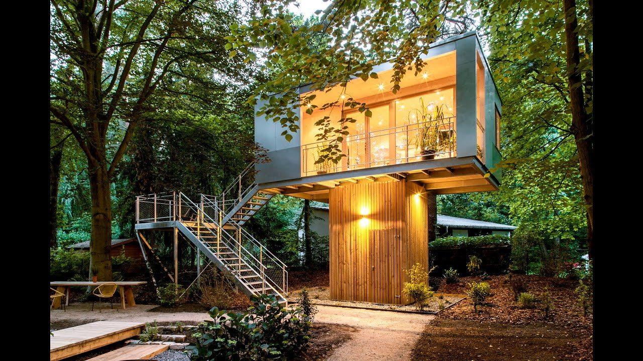 Design and build your own tree house youtube - Decorate your own house ...