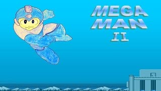 Mega Man 2 NES Walkthrough (HD Video) Part 3 - Flash Man