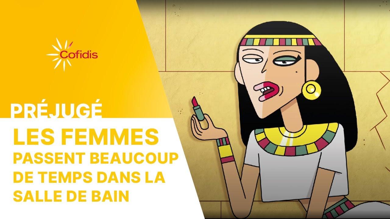 COFIDIS –  LES FEMMES PASSENT BEAUCOUP DE TEMPS DANS LA SALLE DE BAIN - PREJUGE – MARS 2020