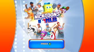 Nicktoons MLB Title Screen (Xbox 360, Wii)