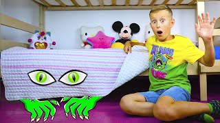 Alex with Monster under the bed stories