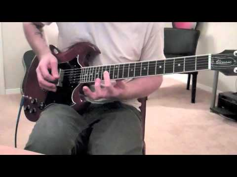 Thrice - The Melting Point of Wax (guitar cover)