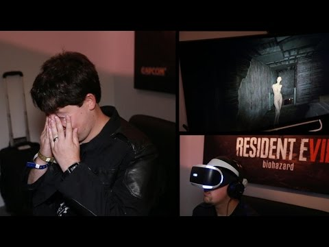 Resident Evil in VR nearly made me puke