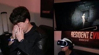 Resident Evil in VR nearly made me puke