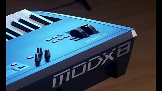Yamaha MODX - Tutorial with Blake Angelos