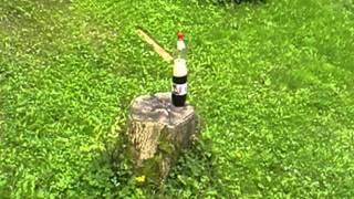vzduchovka a coca cola z TESCA:D