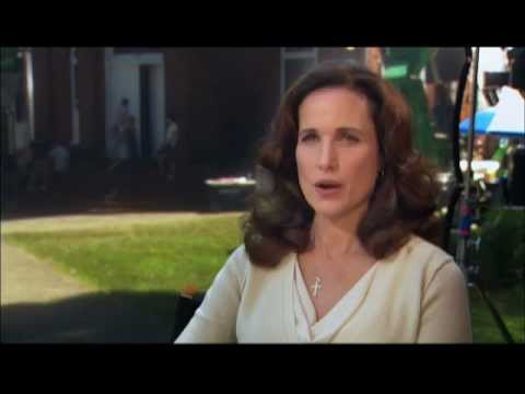Andie MacDowell interview -- Footloose (2011)