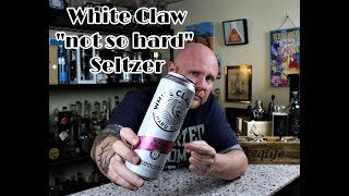 """Trying White Claw """"Hard"""" Seltzer - Black Cherry"""