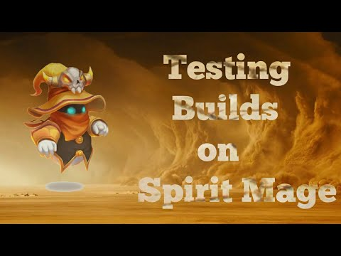 Testing Different Builds On Spirit Mage Castle Clash