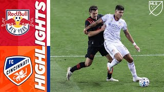 The new york red bulls are seeking their first winning streak of season, and to avenge an mls is back tournament defeat, when they host fc cincinnati sat...