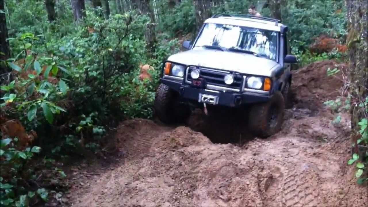 1999 Land Rover Discovery II at Tahuya OHV Park - YouTube