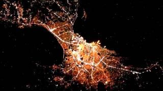 Ночные города мира из космоса (Часть 2)