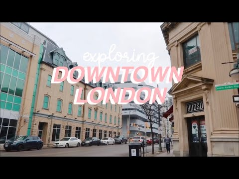 Downtown London Ontario 🇨🇦 | Travel Vlog