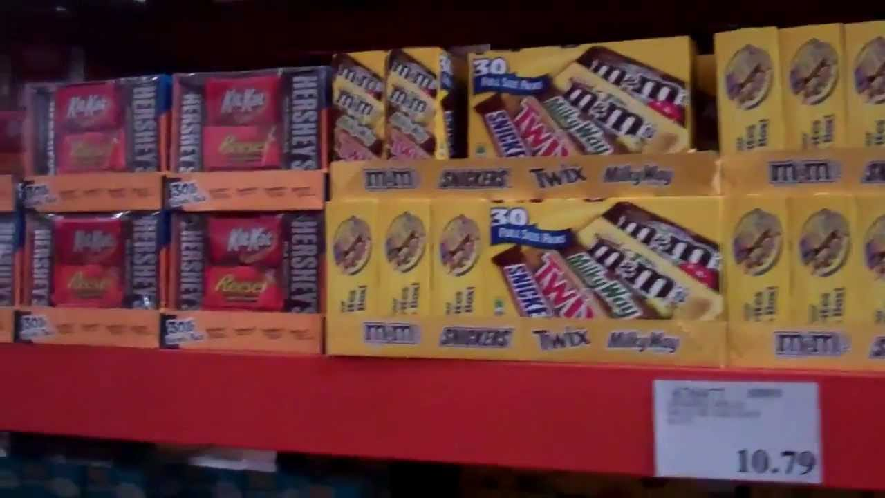 Costco Candy Boxes