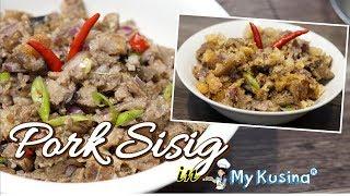 PORK SISIG Pampanga Sisig Inspired   My Kusina