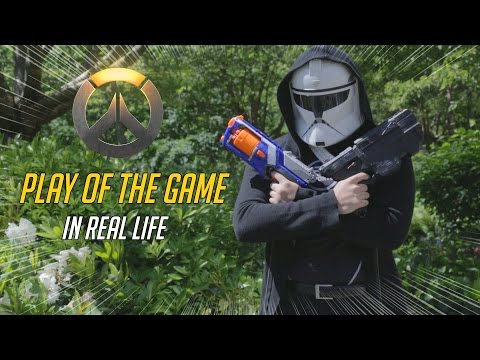 "OVERWATCH | ""PLAY OF THE GAME"" IN REAL LIFE"