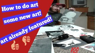 Wanna learn how to draw?Free lessons!Drawings i have featured on channel ,also a shoutout to Merro G
