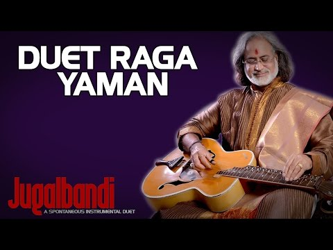 Duet Raga Yaman - Pt Vishwa Mohan Bhatt (Album: Jugalbandi: A Spontaneous Instrumental Duet)