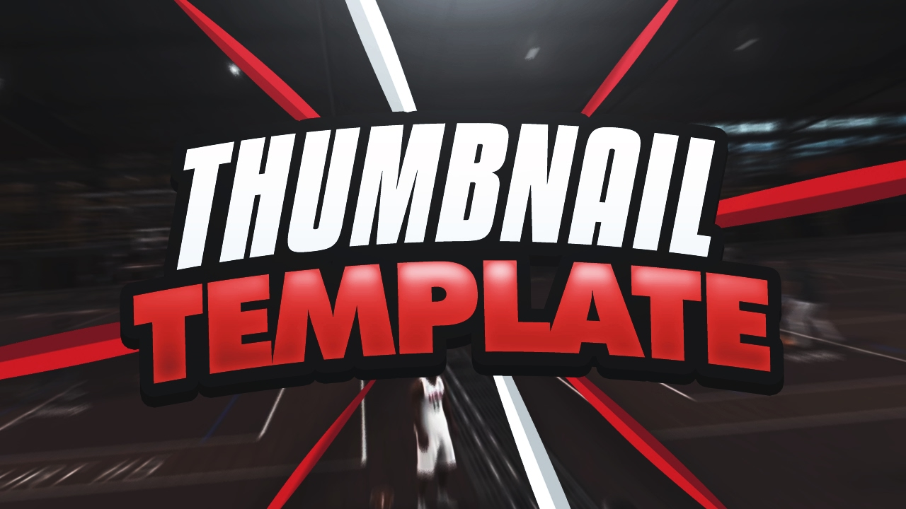 THUMBNAIL TEMPLATE HOW TO MAKE THUMBNAILS LIKE ME YouTube