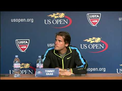 Tommy Haas Discusses Ernest Gulbis US Open Loss