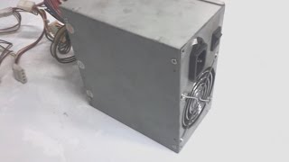 Как найти 12 вольт в блоке питания компьютера Пентиум