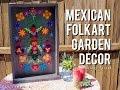 Mexican Folk Art Inspired Felt Garden Decor 🌻 💐